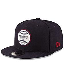 New Era Minnesota Twins Vintage Circle 9FIFTY Snapback Cap