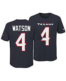 Nike Deshaun Watson Houston Texans Pride Name and Number 3.0 T-Shirt, Big Boys (8-20)