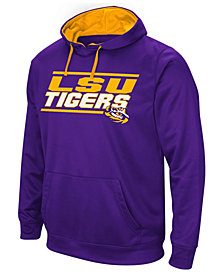 Colosseum Men's LSU Tigers Stack Performance Hoodie