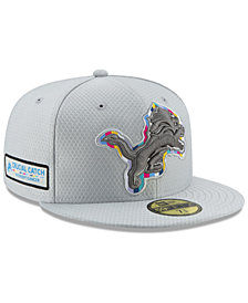 New Era Detroit Lions Crucial Catch 59FIFTY FITTED Cap