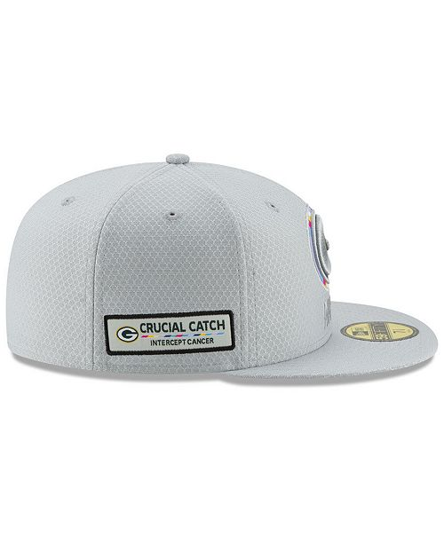 100cf318e98ba1 New Era Green Bay Packers Crucial Catch 59FIFTY FITTED Cap & Reviews ...