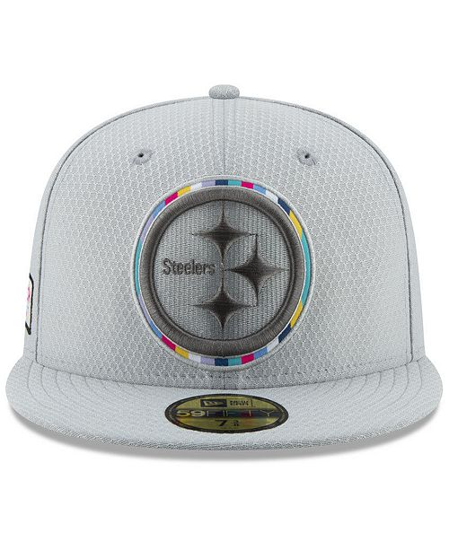 competitive price a6342 e5a6f ... New Era Pittsburgh Steelers Crucial Catch 59FIFTY FITTED Cap ...