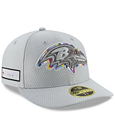 New Era Baltimore Ravens Crucial Catch Low Profile 59FIFTY Fitted Cap