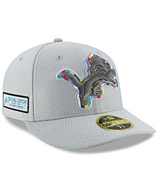 New Era Detroit Lions Crucial Catch Low Profile 59FIFTY Fitted Cap