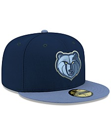 New Era Memphis Grizzlies Basic 2 Tone 59FIFTY Fitted Cap