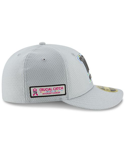 c52ee9c3cc6 ... New Era New York Giants Crucial Catch Low Profile 59FIFTY Fitted Cap ...