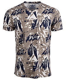 American Rag Men's Tropical V-Neck T-Shirt, Created for Macy's