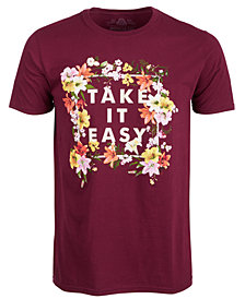 American Rag Men's Take It Easy T-Shirt, Created for Macy's