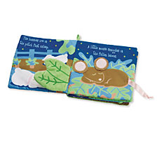 Manhattan Toy Snuggle Pods Goodnight My Sweet Pea Soft Activity Book