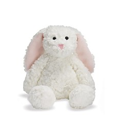 Manhattan Toy Delightfuls White Bevin Bunny 11 Inch Plush Toy