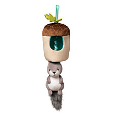 Manhattan Toy Lullaby Squirrel Musical Pull Crib Toy