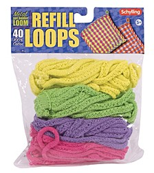 Loop Refill For Metal Potholder Loom Colors Vary