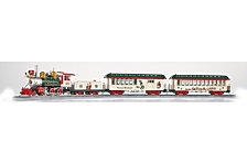 Bachmann Trains Norman Rockwells American Christmas Ready To Run Electric Train Set On30 Scale