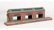 Thomas And Friends Brendam Warehouse Resin Building Scenery Item Ho Scale