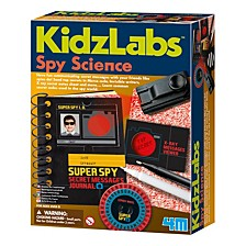 Kidzlabs Spy Science Secret Messages Kit