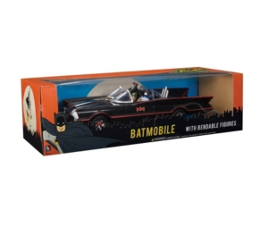 Toysmith Batman Classic Tv Series Batmobile With Bendable Figures