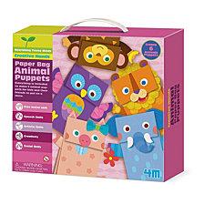 4M Paper Bag Animal Puppets