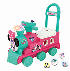 Kiddieland Disney Minnie Mouse Play N Sort Activity Train Ride On