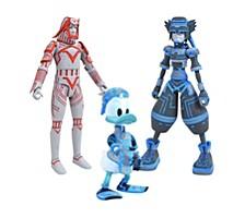 Kingdom Hearts Select Series 3 Sp Sora, Donald And Sark Action Figures