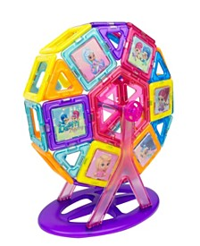 Magformers Shimmer And Shine Carnival 64 Piece Magnetic Construction Set