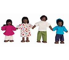 Plantoys Dollhouse Doll Family Afro American