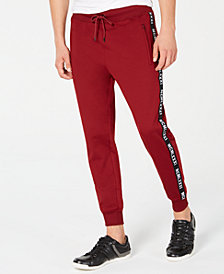 GUESS Men's Logo Tape Jogger Pant