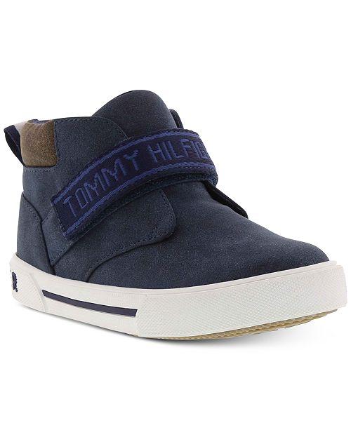 ad2f7ec1 Tommy Hilfiger Toddler Boys Hook & Loop Sneakers & Reviews - Kids ...