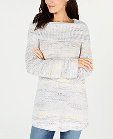 Style & Co Cowl-Neck Tunic Sweater, Created for Macy's