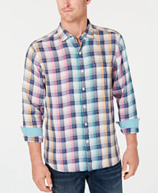Tommy Bahama Men's Polynesian Plaid Shirt