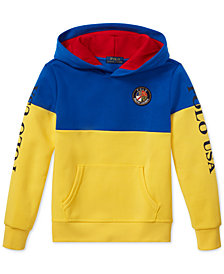 Polo Ralph Lauren Big Boys Colorblocked Tech Hoodie