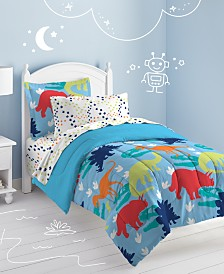 Dream Factory Dinosaur Twin Comforter Set
