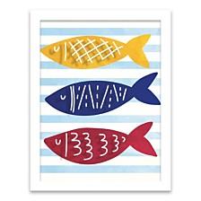 Three Little Fishes Shadowbox