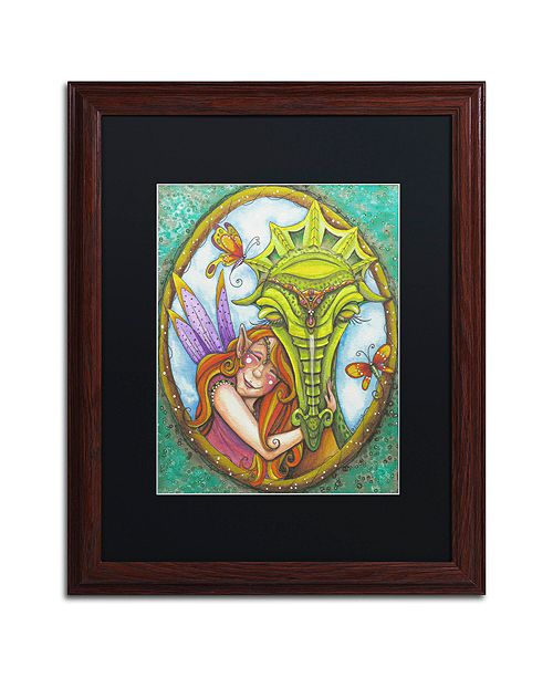 "Trademark Global Jennifer Nilsson Best Friends Forever Matted Framed Art - 16"" x 20"" x 0.5"""