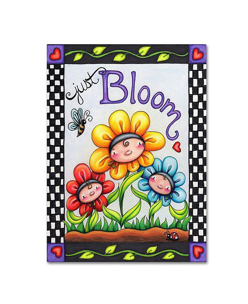 """Trademark Global Jennifer Nilsson Just Bloom Canvas Art - 16"""" x 20"""" x 0.5"""""""