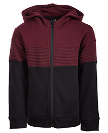 Ideology Big Boys Ottoman Colorblocked Zip-Up Hoodie, Created for Macy's