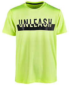 Ideology Big Boys Unleash-Print T-Shirt, Created for Macy's