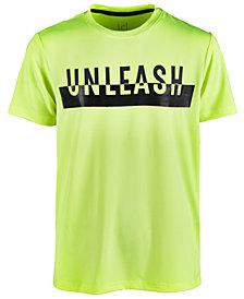 Ideology Big Boys Unleash-Print T-Shirt, Created for Macy's
