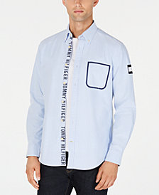 Tommy Hilfiger Men's Royce Sealed Pocket Shirt, Created for Macy's