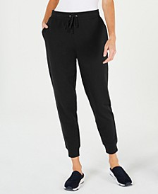 Petite French Terry Jogger Pants, Created For Macy's