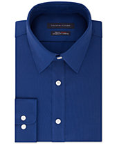 Tommy Hilfiger Men s Athletic Fit Performance Stretch TH Flex Collar Dress  Shirt, Created for Macy s 684a6b037a9e