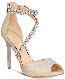 Jewel Badgley Mischka Javier Evening Pumps