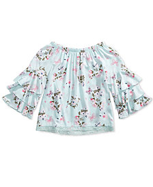 Epic Threads Big Girls Floral Print Top, Created for Macy's