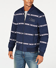 Tommy Hilfiger Mens Zip-Front Logo Jacket, Created for Macy's