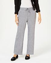 c39432364c2 Linen Pants For Women  Shop Linen Pants For Women - Macy s