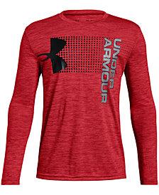 Under Armour Big Boys Logo-Print T-Shirt