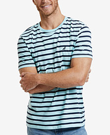 Nautica Men's Striped Crewneck T-Shirt