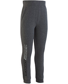 Under Armour Toddler Boys Logo Rival Jogger Pants