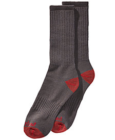 Timberland Men's 2-Pk. Boot Crew Socks
