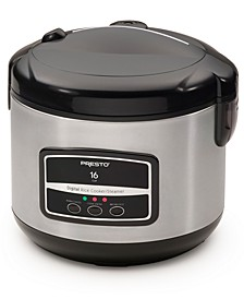 16-Cup Digital Rice Cooker/Steamer