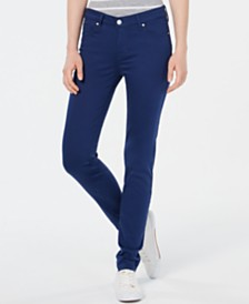 Celebrity Pink Juniors' Jayden Colored Wash Skinny Jeans